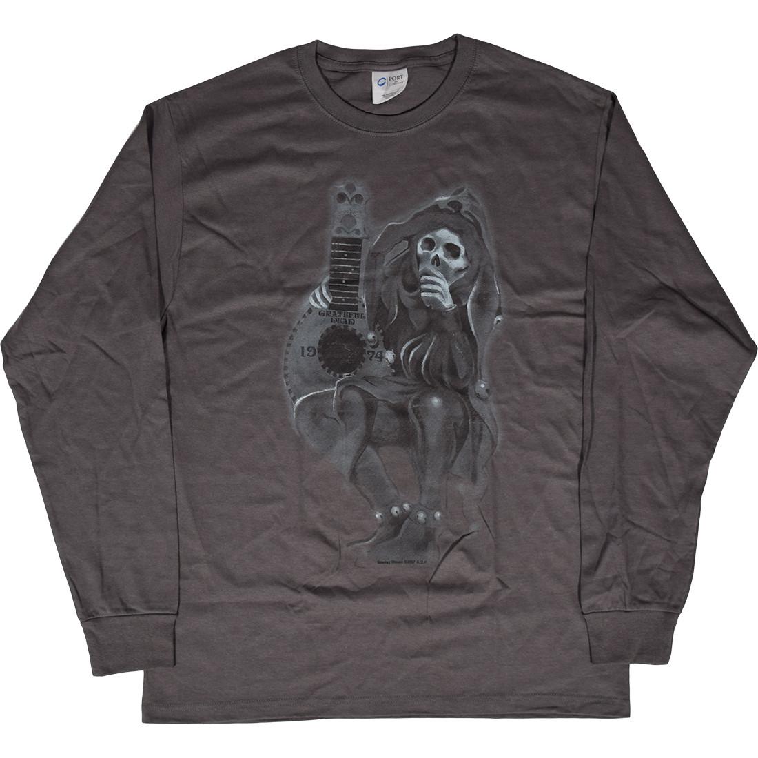 GD Jester Grey Long Sleeve T-Shirt