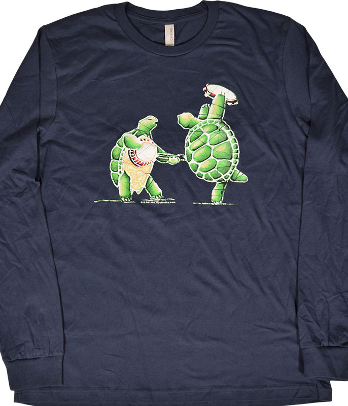 Grateful Dead GD Terrapin Station Navy Long Sleeve T-Shirt Tee .