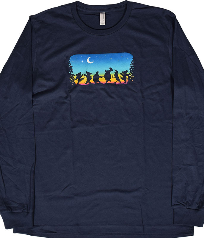 GD Moondance Navy Long Sleeve T-Shirt