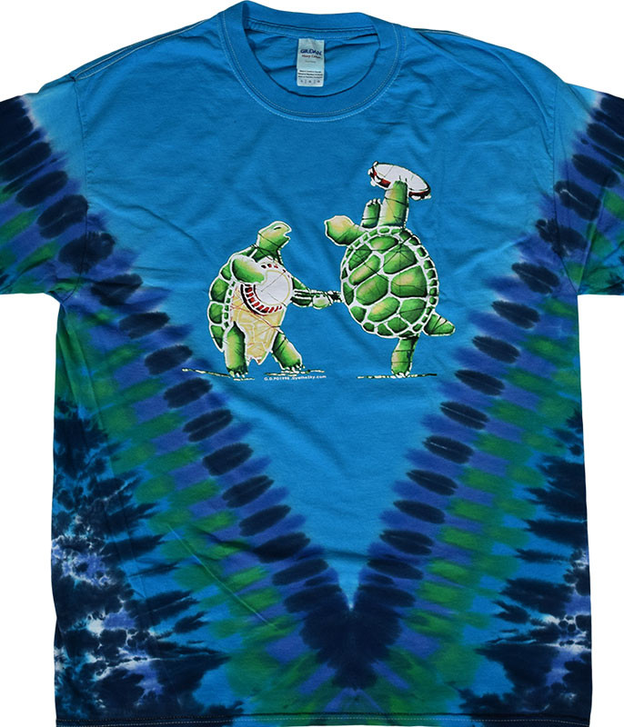 Grateful Dead GD Terrapin Tie-Dye T-Shirt Tee