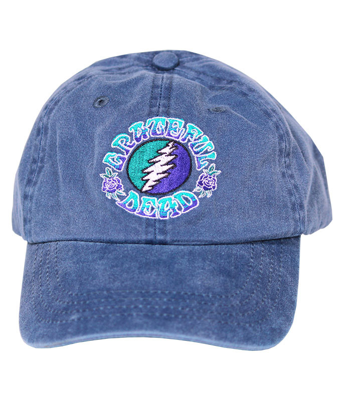 Grateful Dead GD Batik SYF Denim Baseball Cap
