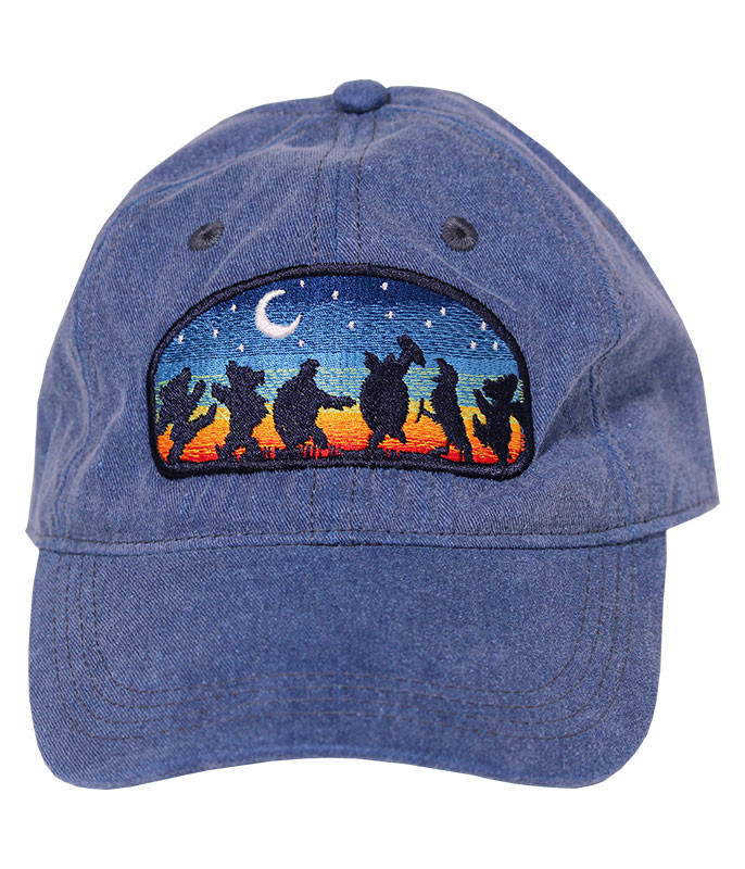 Grateful Dead GD Moondance Denim Baseball Cap