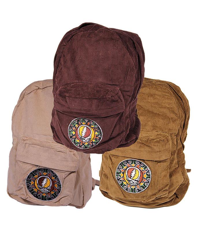 Grateful Dead GD Tribal SYF Patchwork Backpack