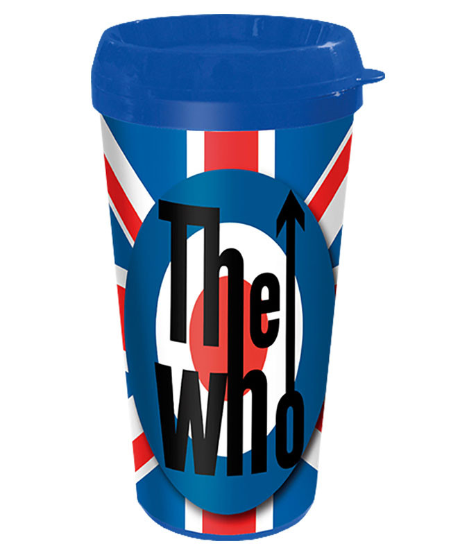 The Who Union Jack Travel Mug