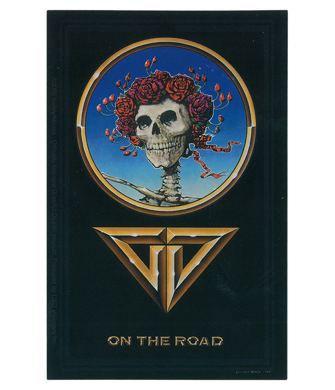Grateful Dead GD On The Road Sticker