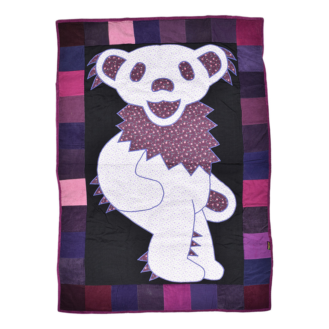 GD Bear Patchwork Quilt