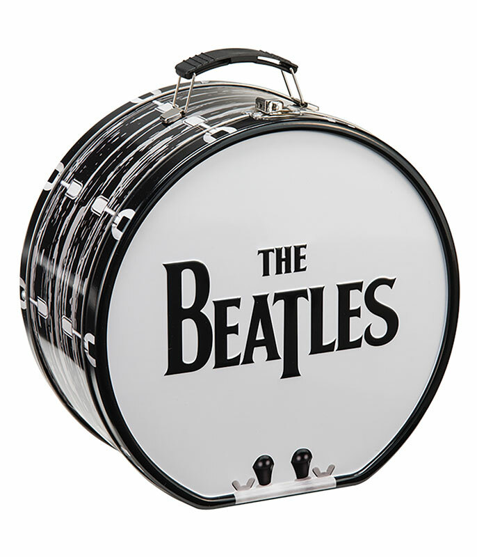 Beatles Drum Tin Tote