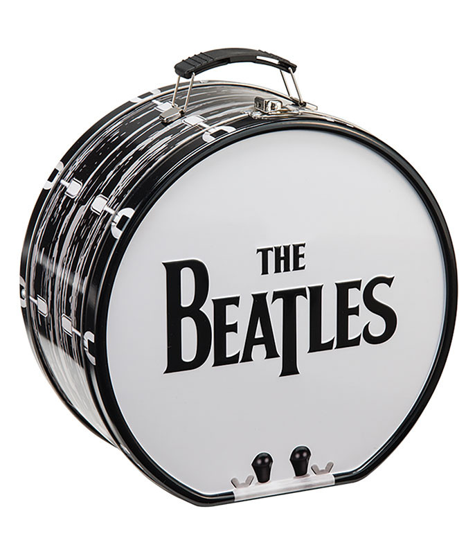 Beatles Beatles Drum Tin Tote