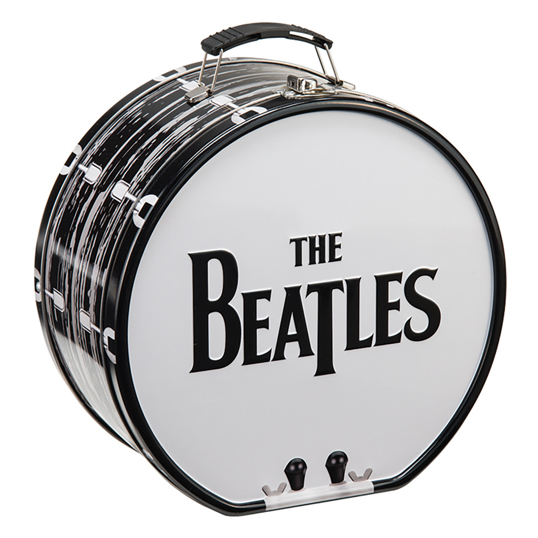 Beatles Drum Tin Tote