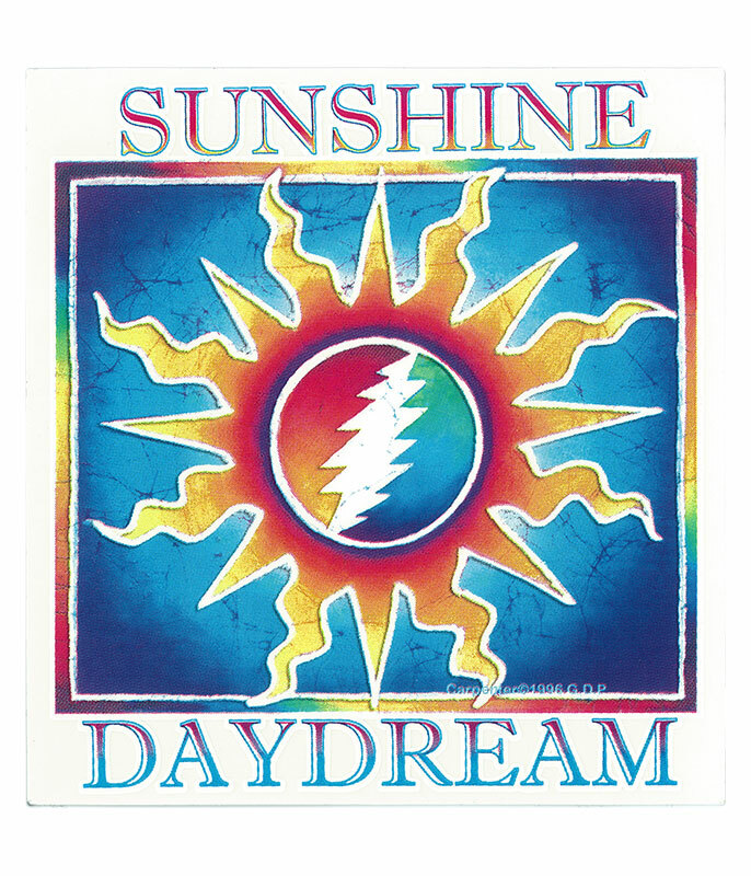 GD Sunshine Daydream Sticker