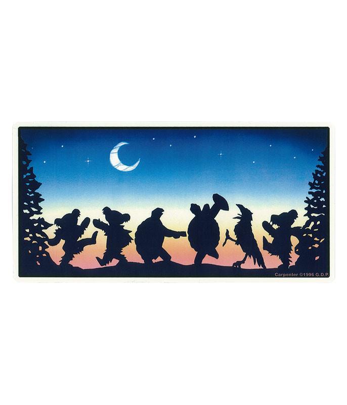 Grateful Dead GD Moondance Sticker