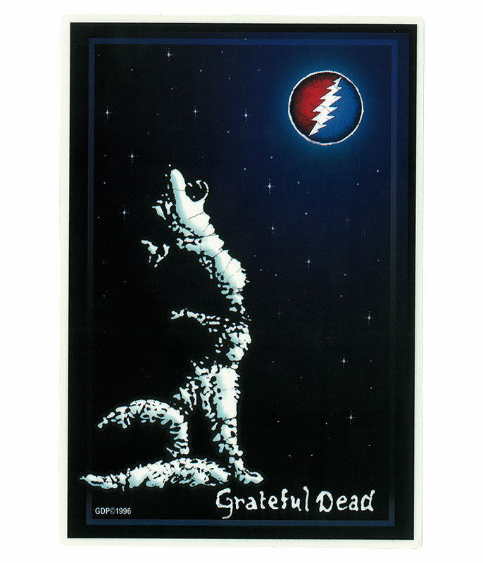 Grateful Dead GD Wolf Moon Sticker
