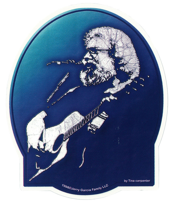 Jerry Garcia Acoustic Sticker