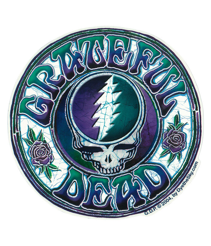 Grateful Dead GD Batik SYF Sticker