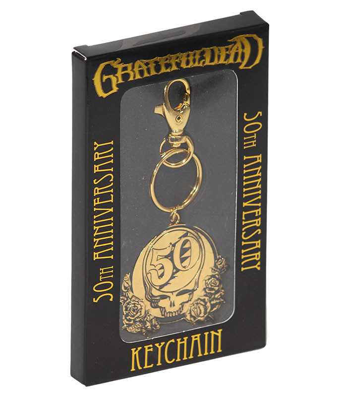 Grateful Dead GD 50th Anniversary Keychain