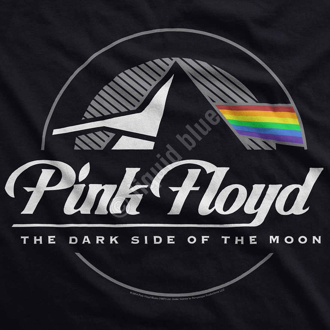 Dark Side Graphic Black T-Shirt