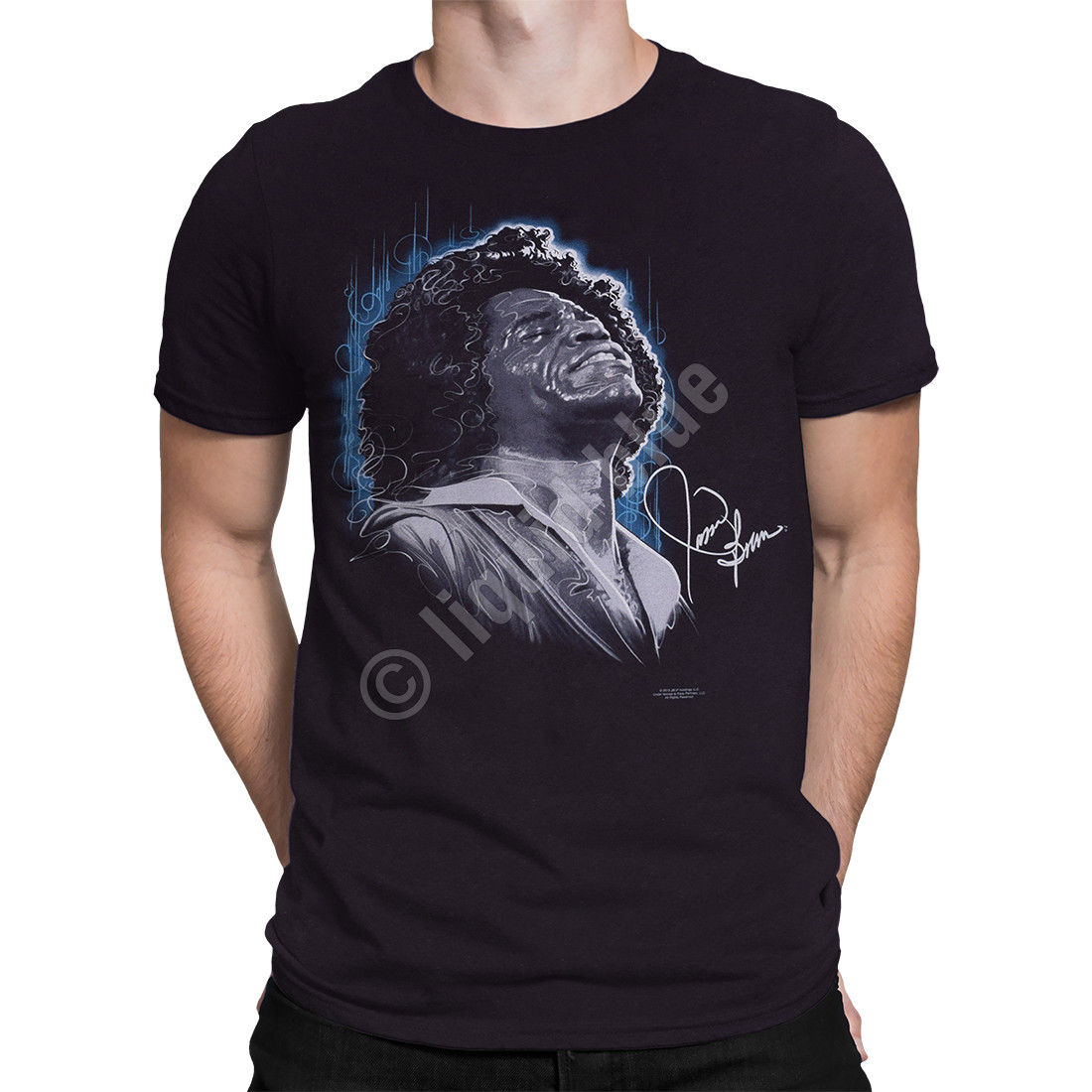 Godfather of Soul Black Athletic T-Shirt