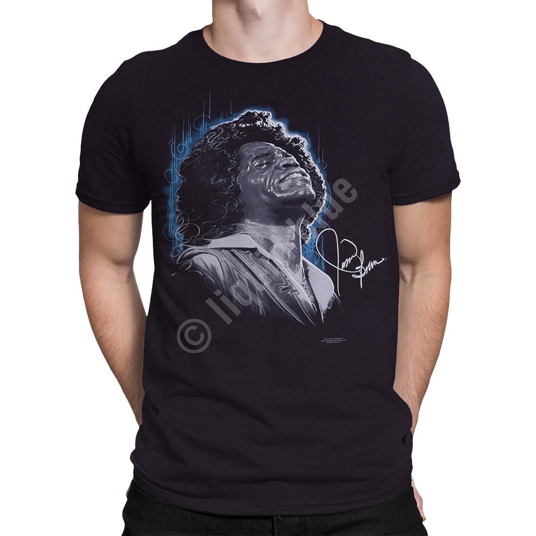 Godfather of Soul Black Athletic T-Shirt