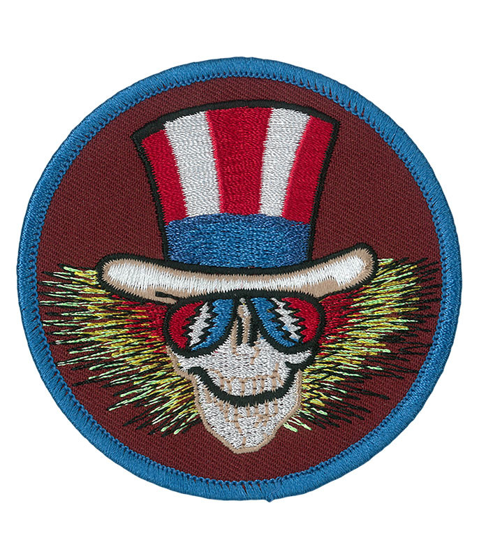 Grateful Dead GD Uncle Sam Circle Patch