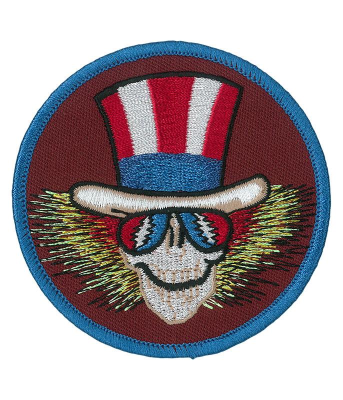 Grateful Dead GD Uncle Sam Circle Patch
