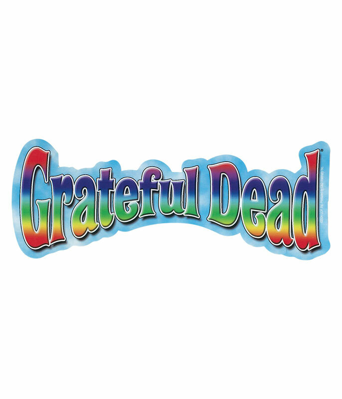 Grateful Dead GD Rainbow Logo Sticker