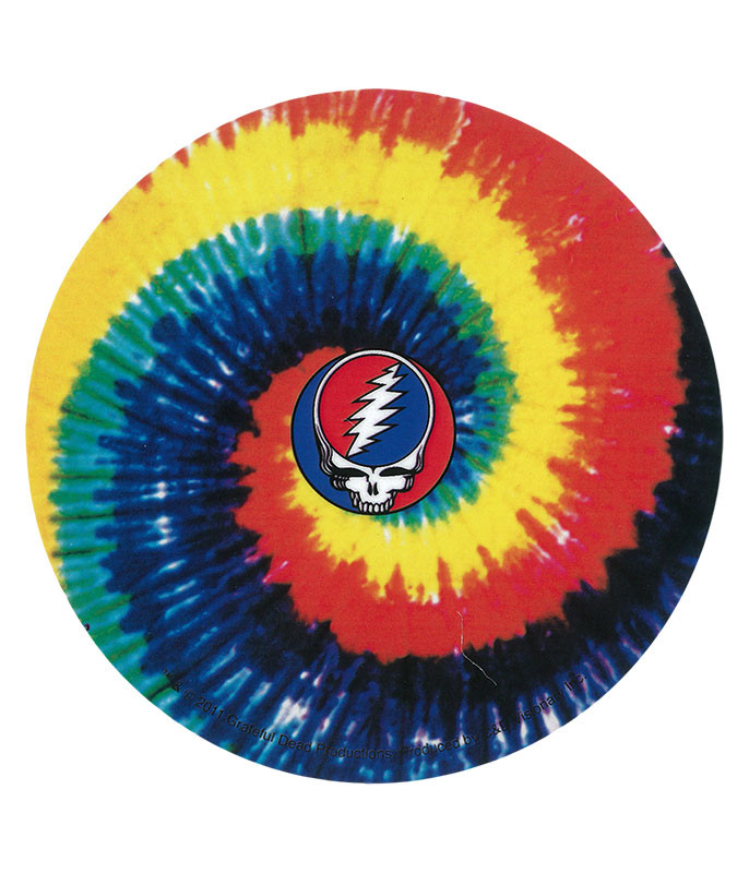 Grateful Dead GD SYF Spiral Dye Sticker