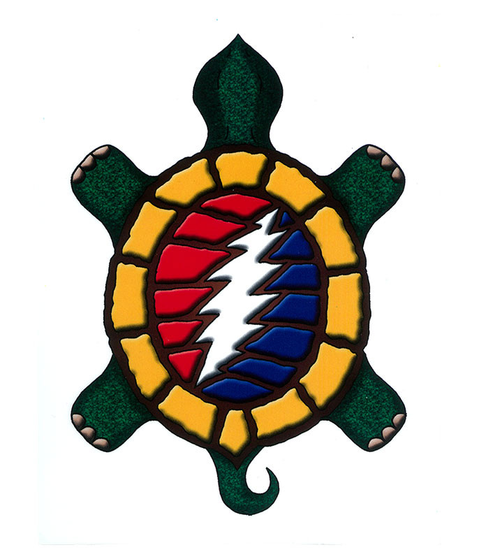 Grateful Dead GD Steal Your Terrapin Sticker