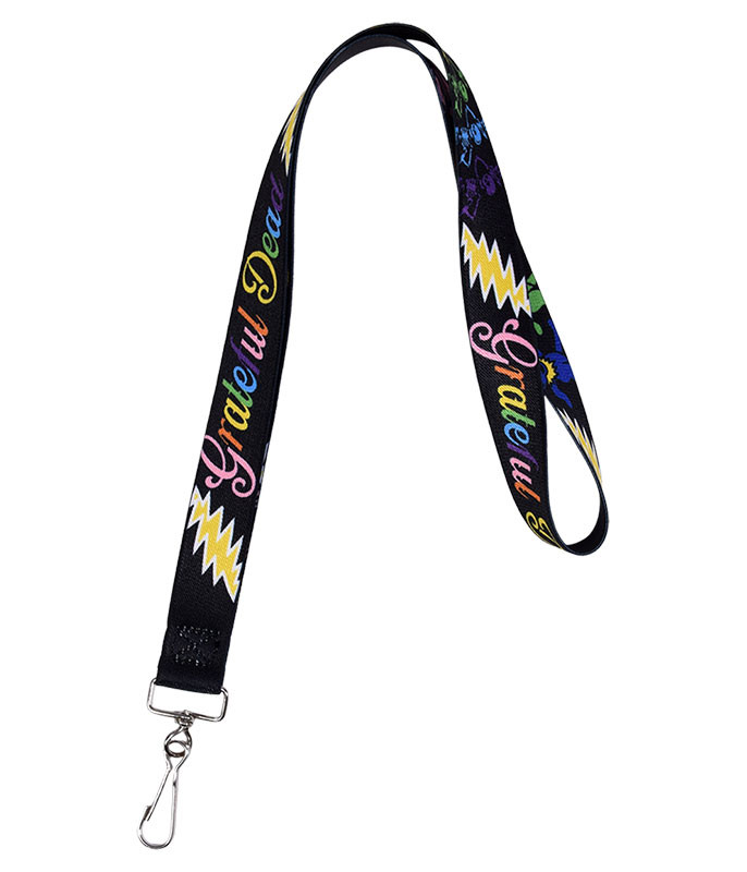 Grateful Dead GD Bear Bolt Lanyard