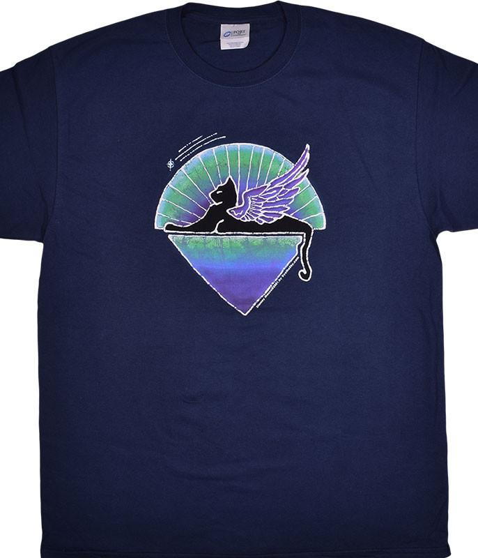 Grateful Dead GD Star Cat Navy T-Shirt Tee