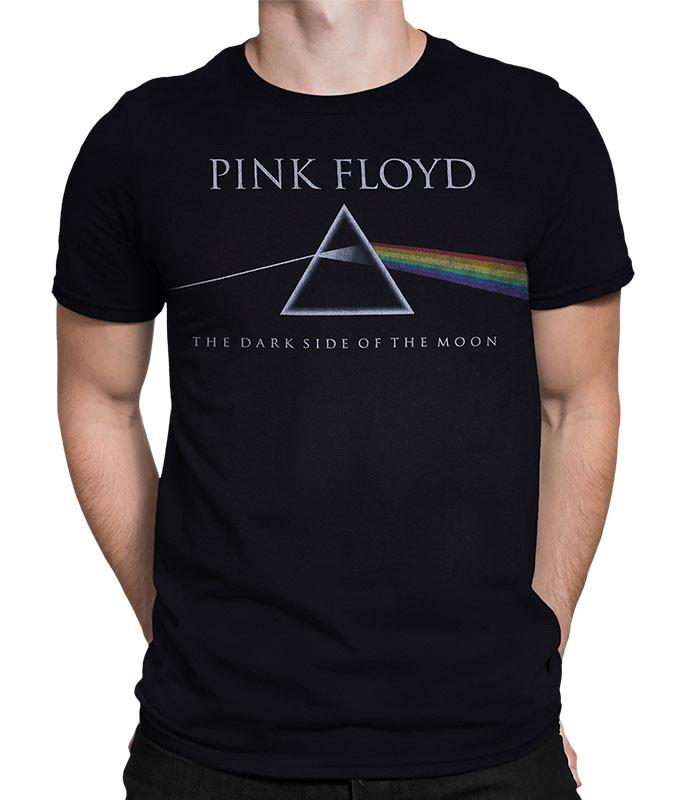 Classic Floyd Black Poly-Cotton T-Shirt