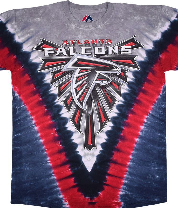 Atlanta Falcons V Tie-Dye T-Shirt
