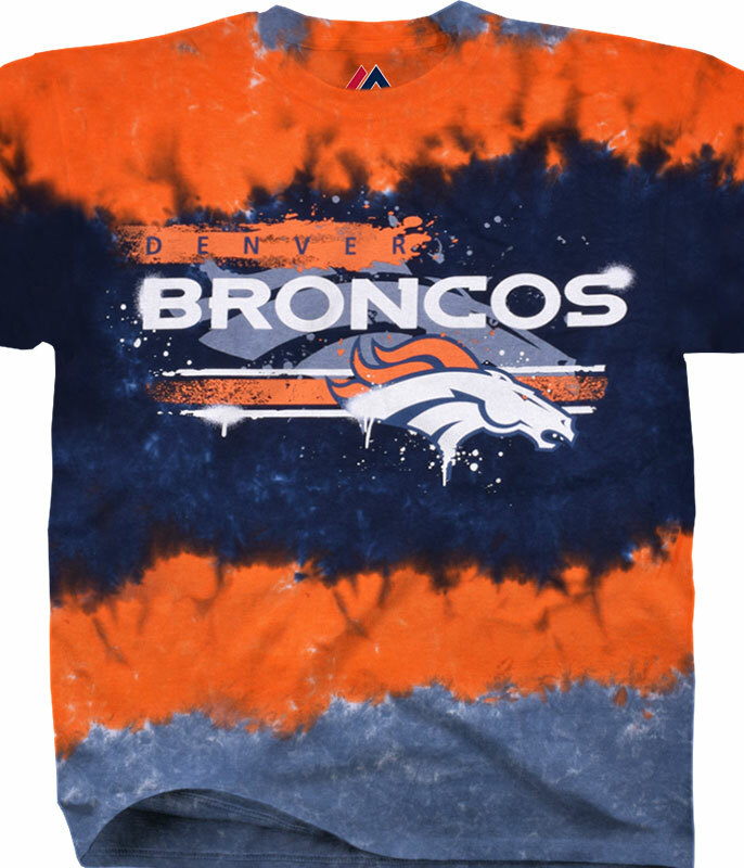 Nfl Horizontal Stencil T Shirts Tees Tie Dyes Gifts