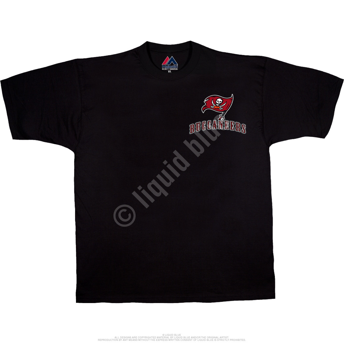 Tampa Bay Buccaneers Running Back Black T-Shirt