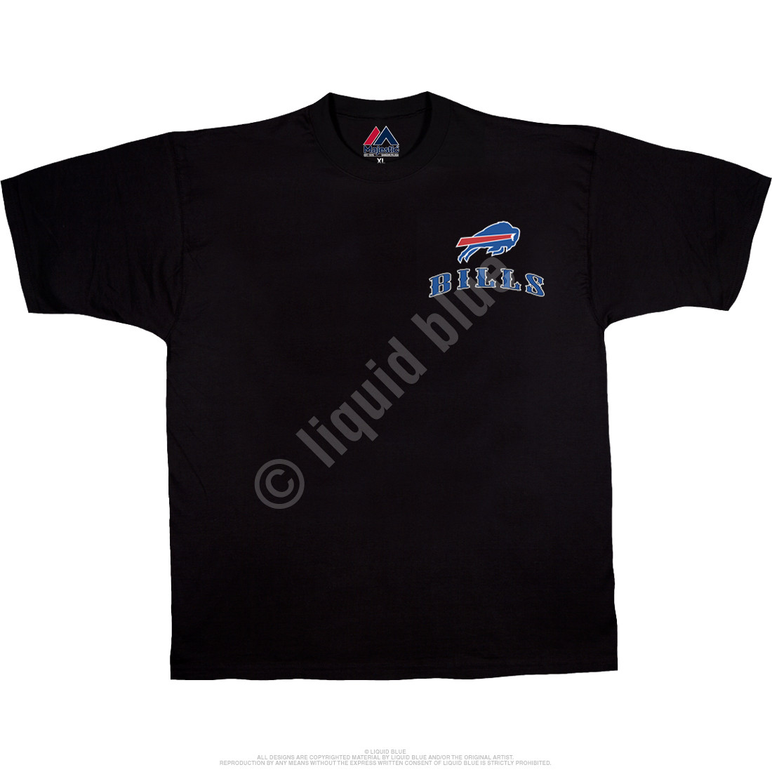 Buffalo Bills Running Back Black T-Shirt