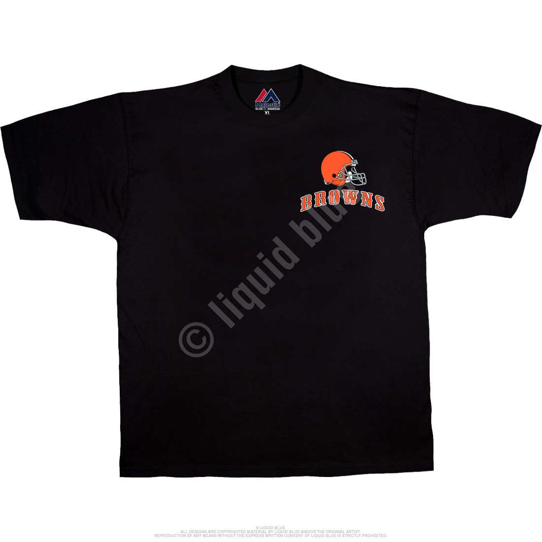 Cleveland Browns Running Back Black T-Shirt