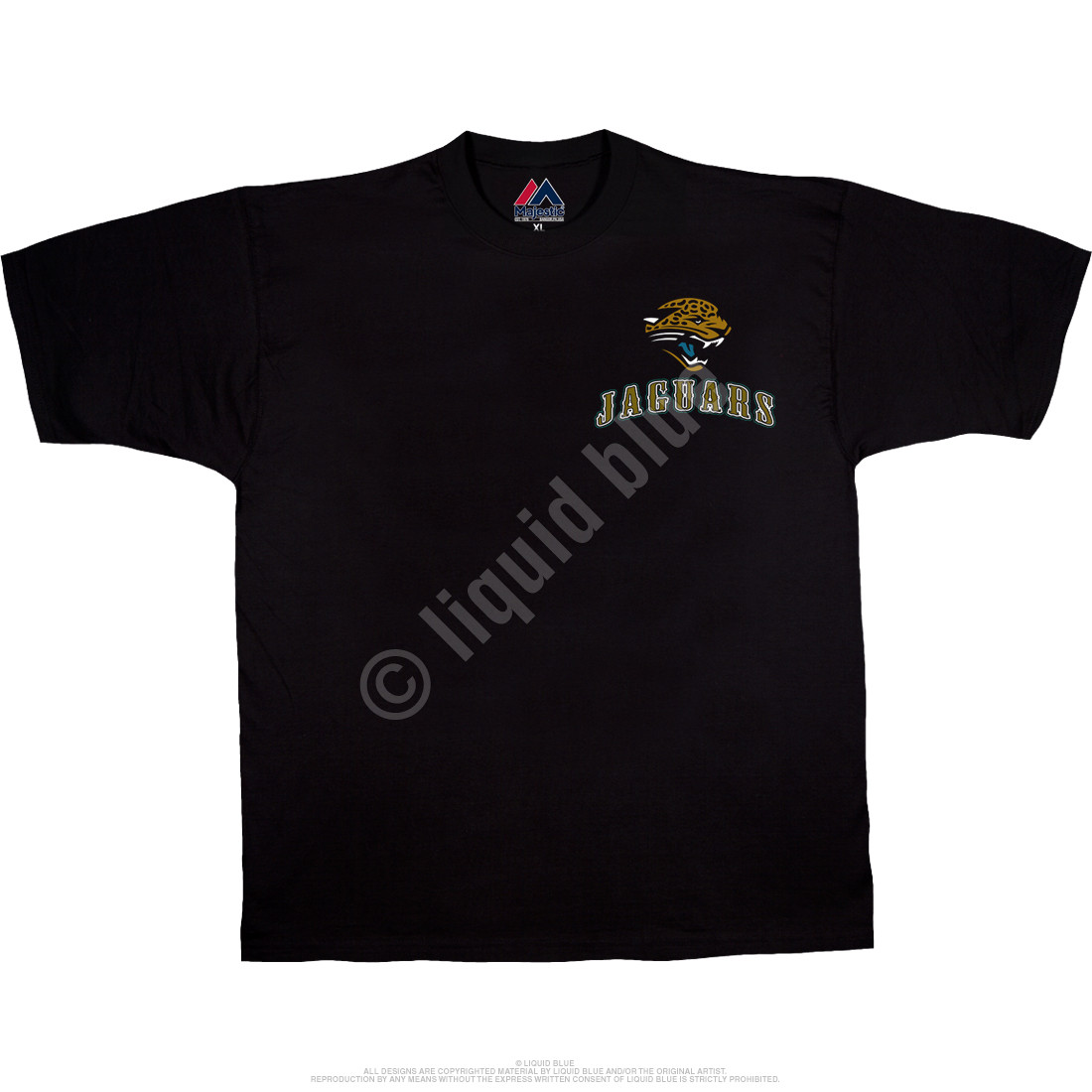 Jacksonville Jaguars Running Back Black T-Shirt
