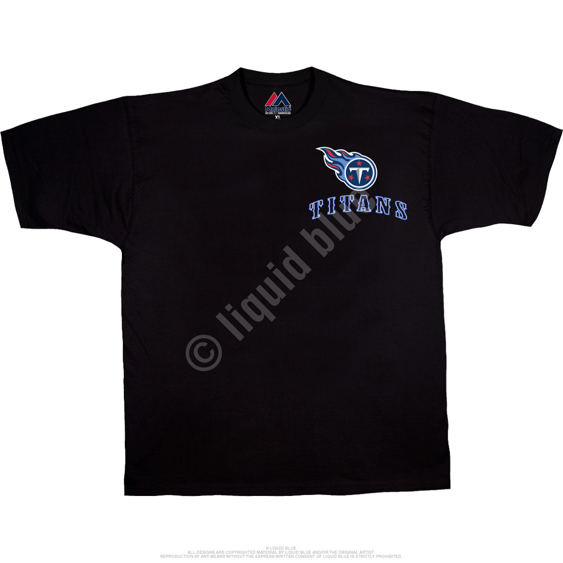 Tennessee Titans Running Back Black T-Shirt