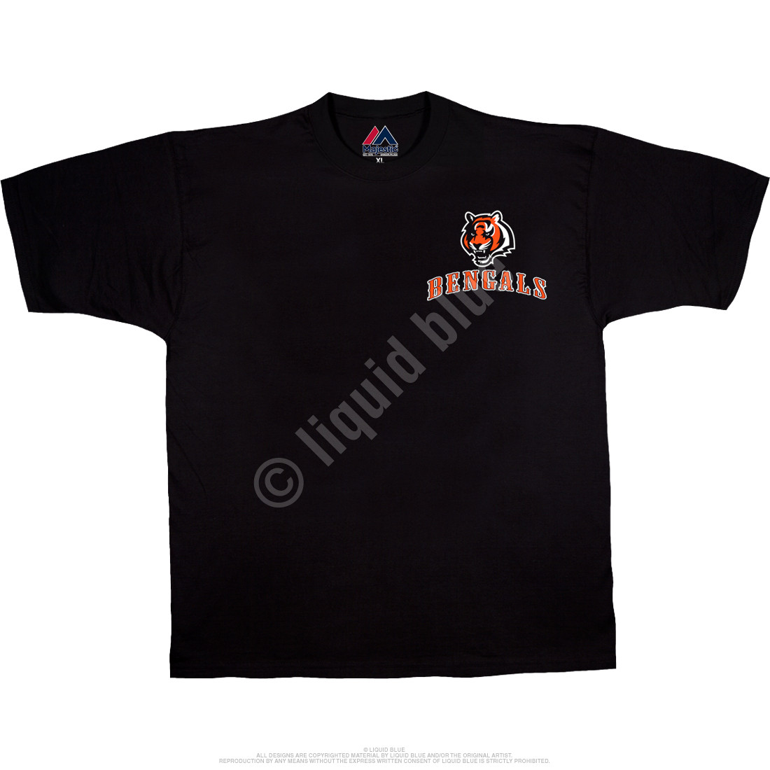 Cincinnati Bengals Running Back Black T-Shirt
