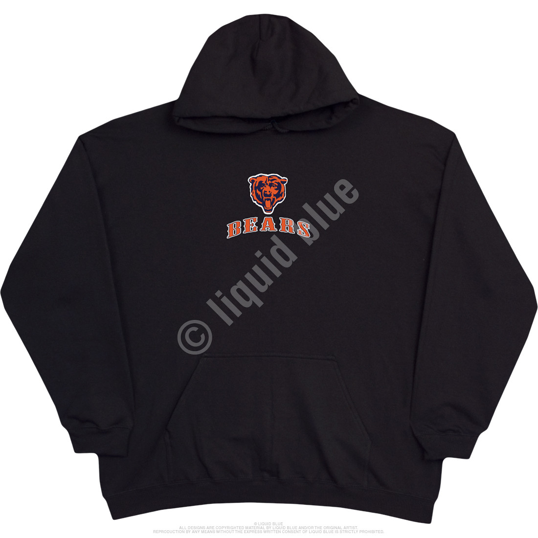 Chicago Bears Running Back Black Hoodie