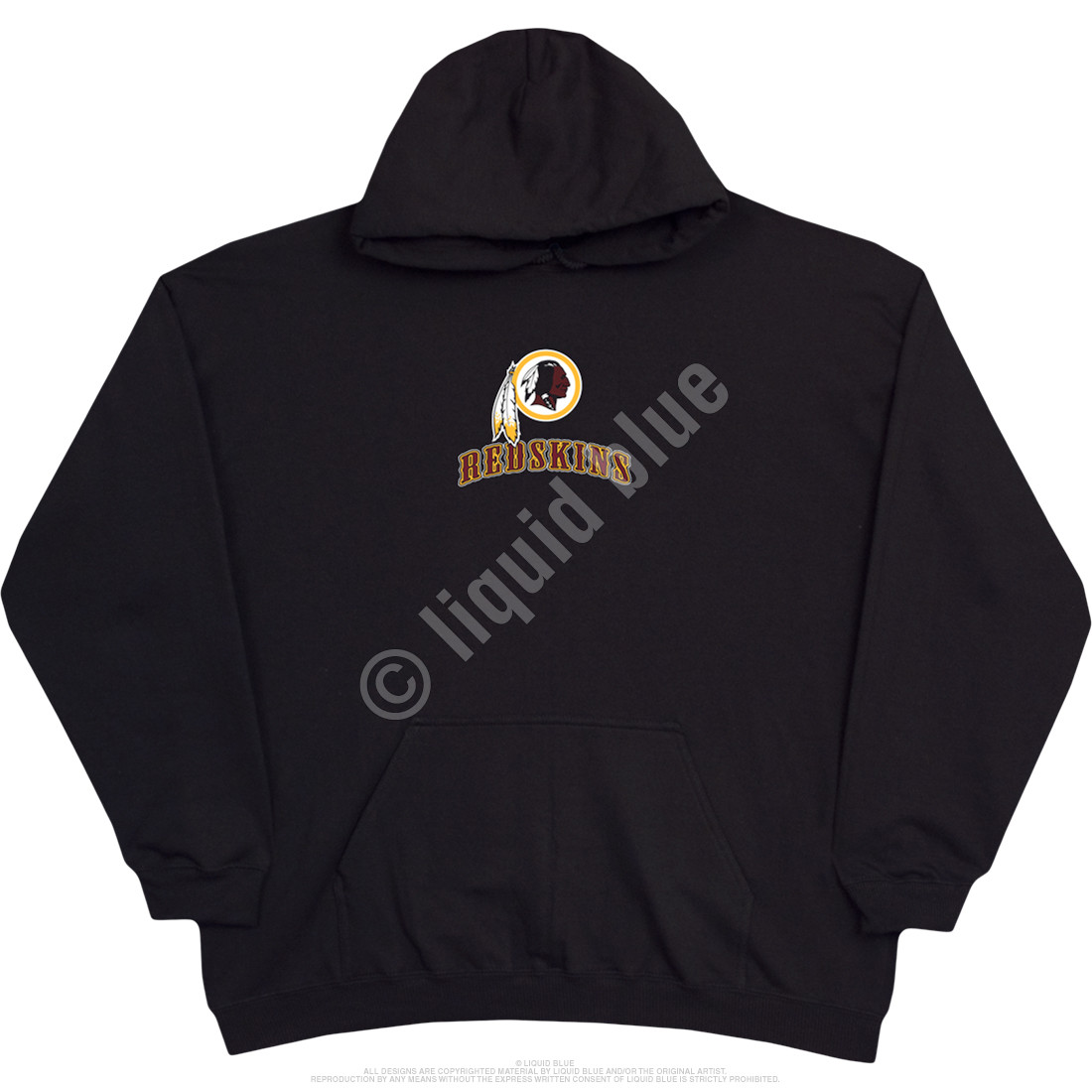 Washington Redskins Running Back Black Hoodie