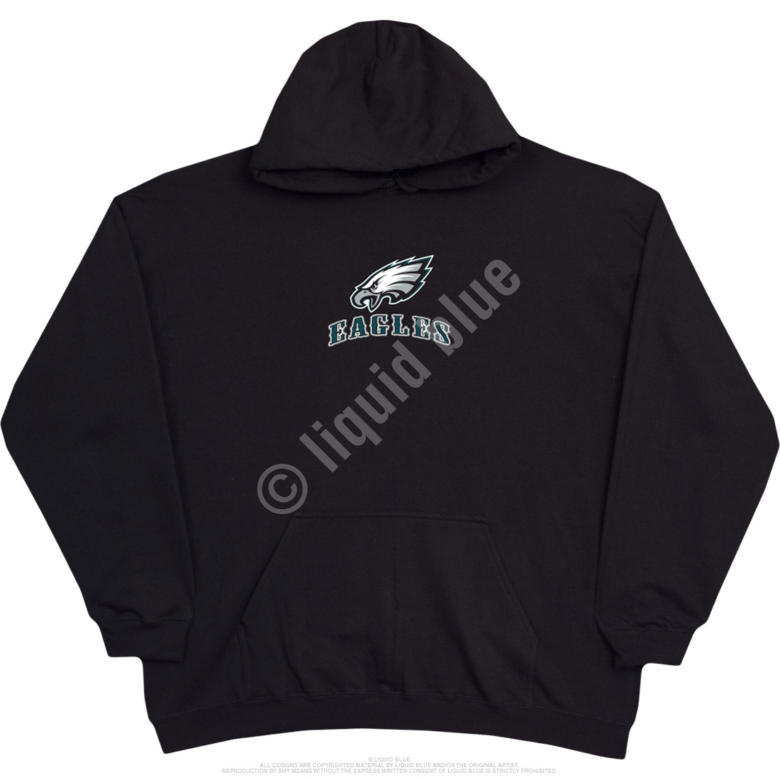 Philadelphia Eagles Running Back Black Hoodie
