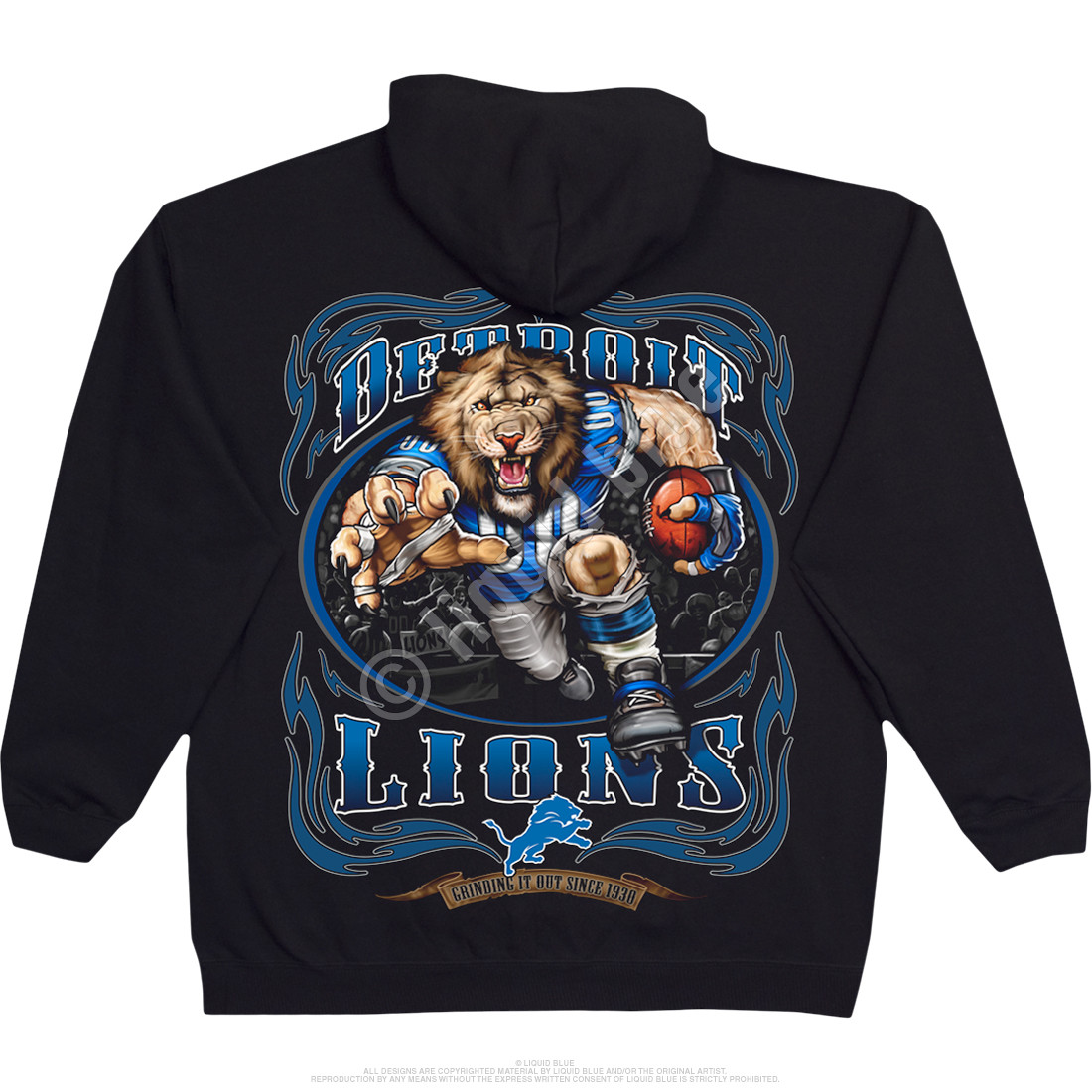 Detroit lions hoodies