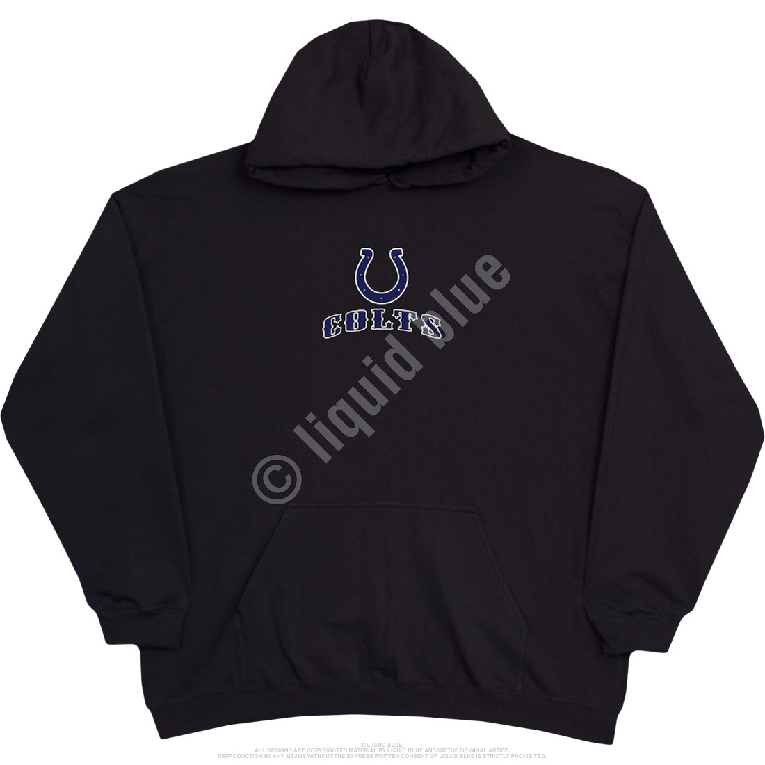 Indianapolis Colts Running Back Black Hoodie