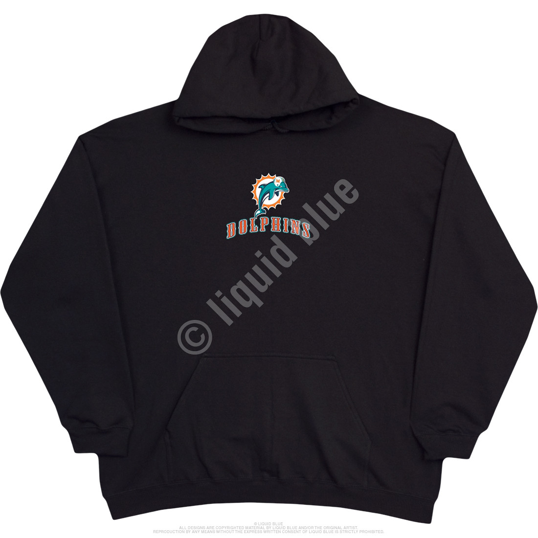 Miami Dolphins Running Back Black Hoodie