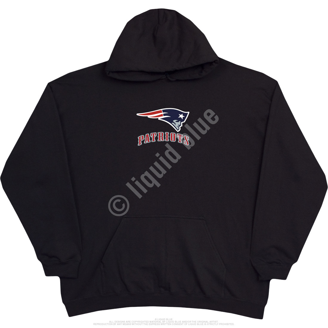 New England Patriots Running Back Black Hoodie