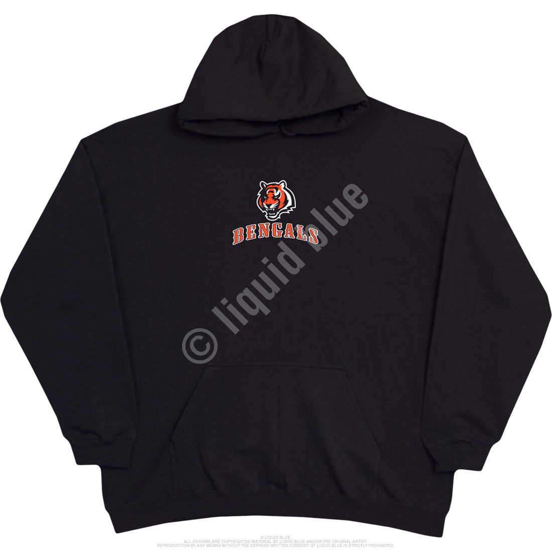 Cincinnati Bengals Running Back Black Hoodie