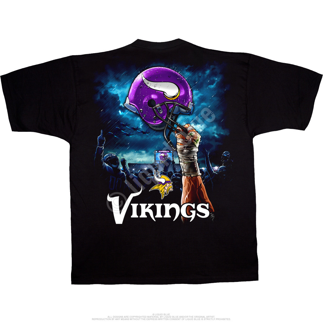Viking Skulls Size Youth Small to 6 X Large T Shirt Pick Your Size
