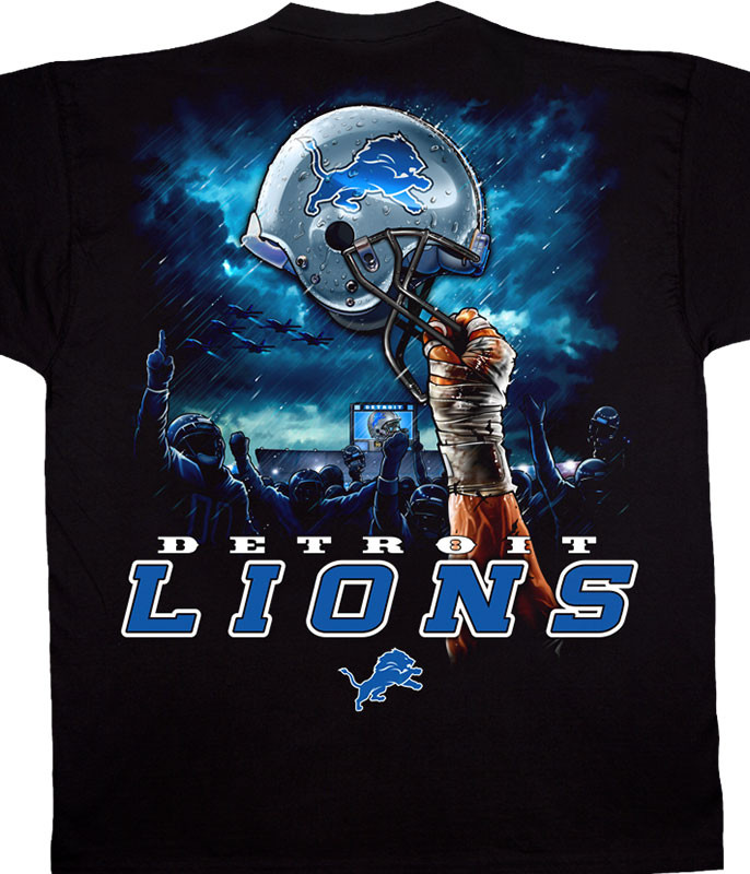 official photos 9300f 43a12 NFL - DETROIT LIONS T-Shirts, Tees, Tie-Dyes, Gifts ...