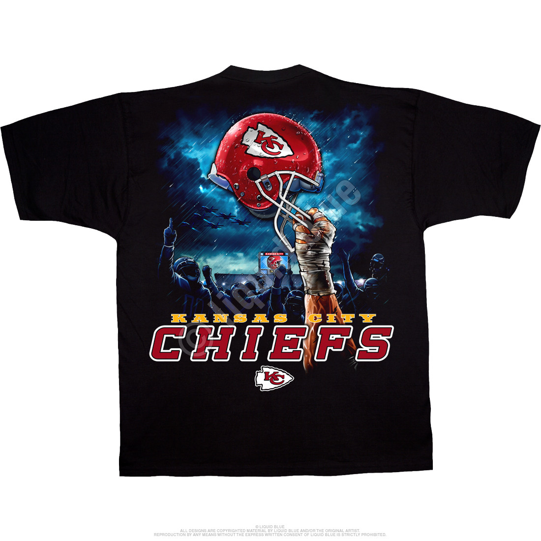 black chiefs shirt