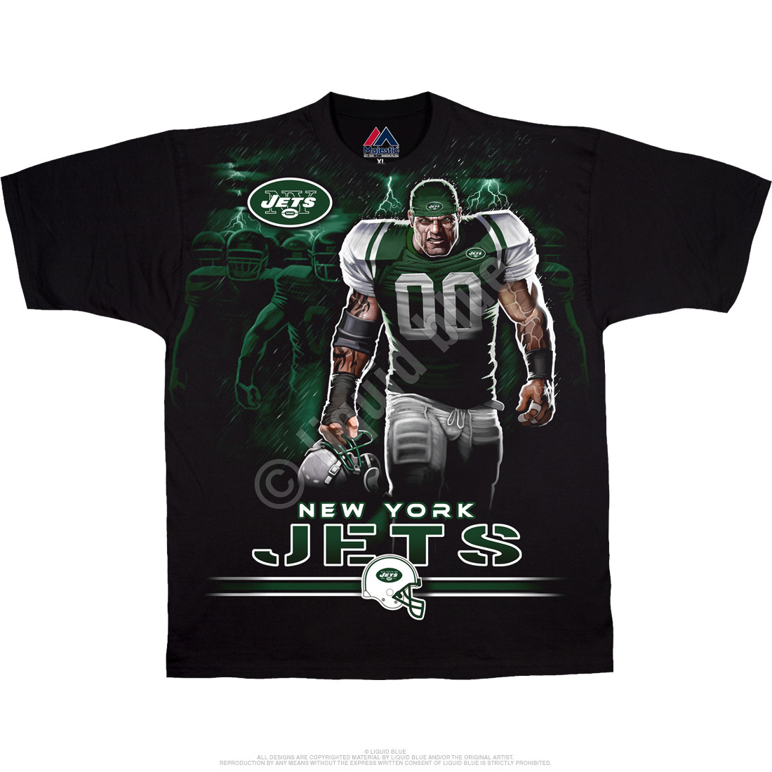 New York Jets Tunnel Black T-Shirt